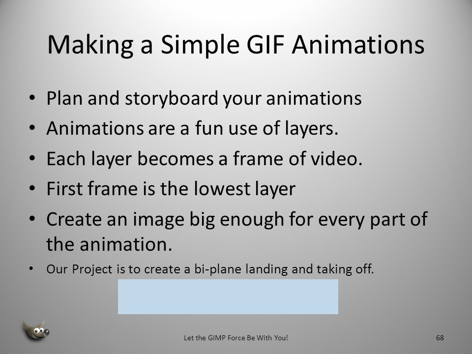 Making a Simple GIF Animations
