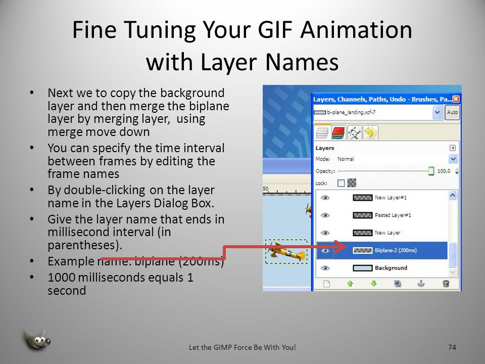 Fine Tuning Your GIF Animation with Layer Names