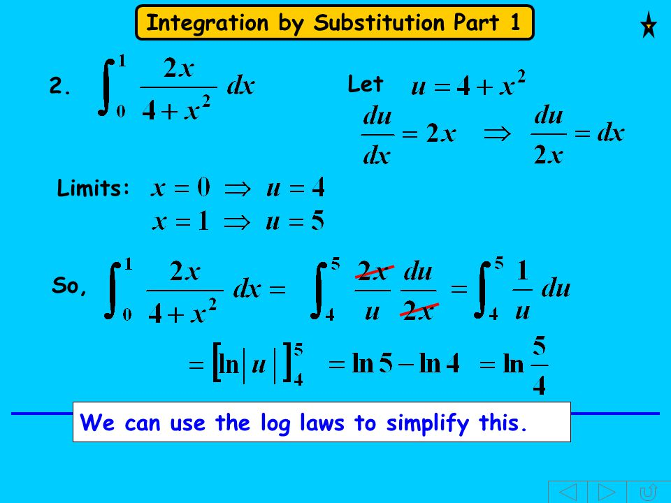 2. Let Limits: So, We can use the log laws to simplify this.