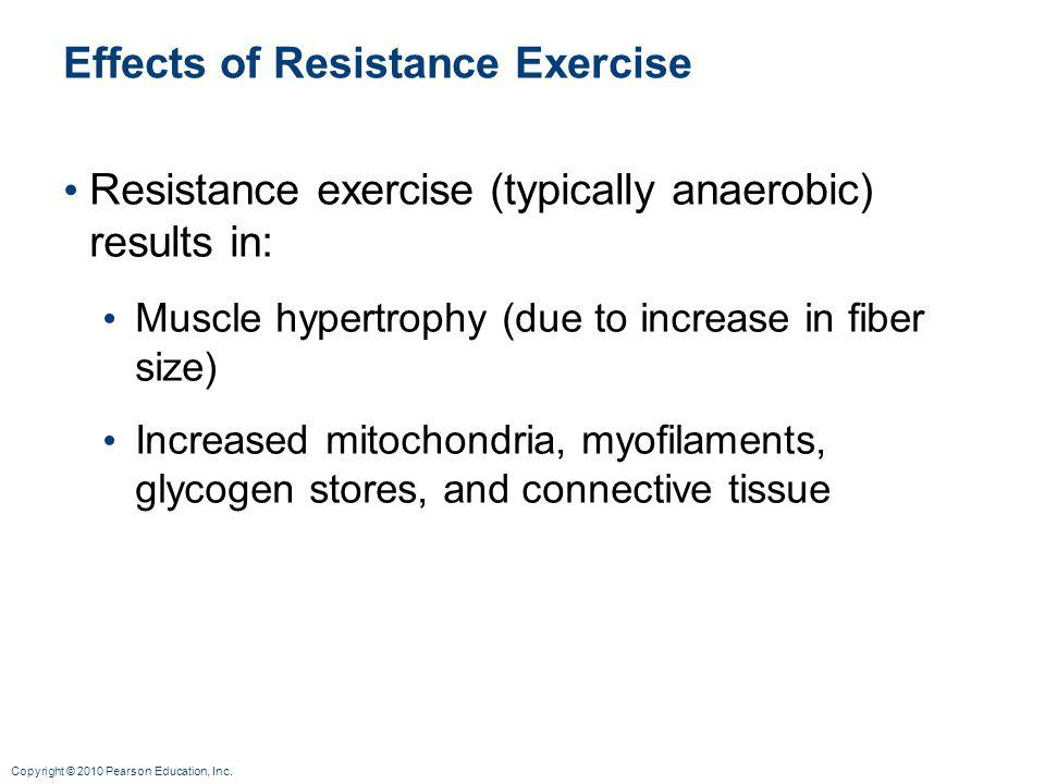 Effects of Resistance Exercise