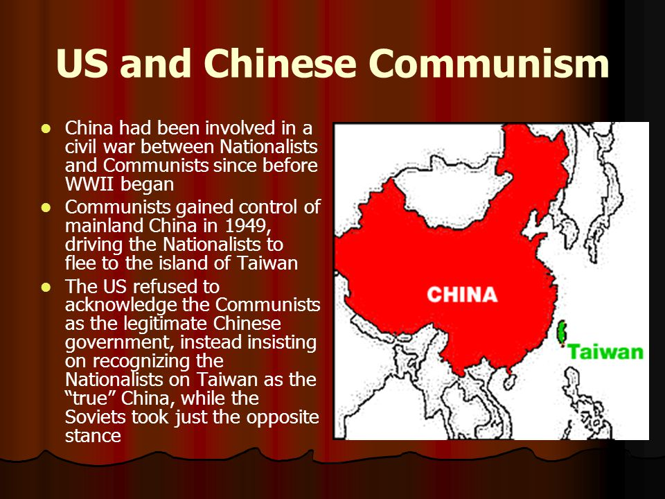 US and Chinese Communism