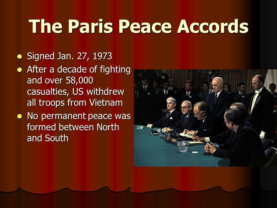 The Paris Peace Accords