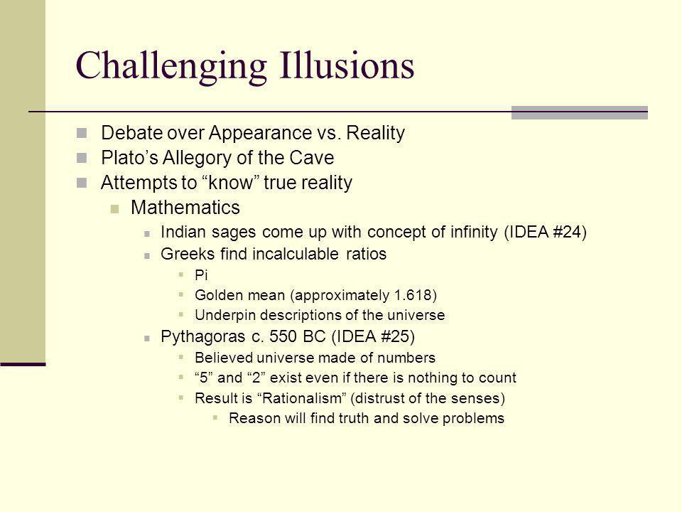 Challenging Illusions