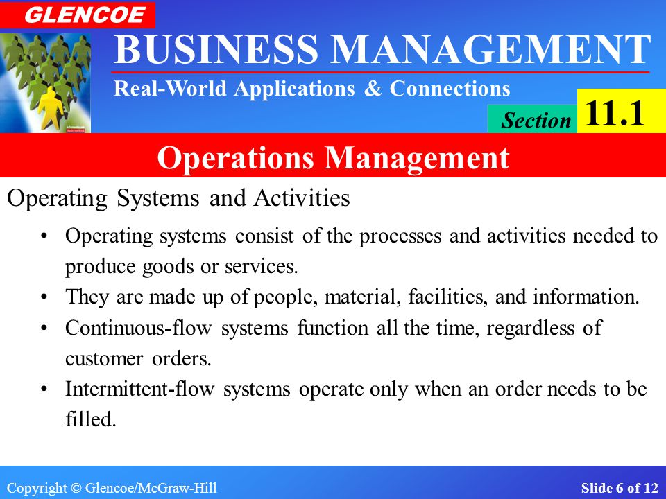 Operating Systems and Activities