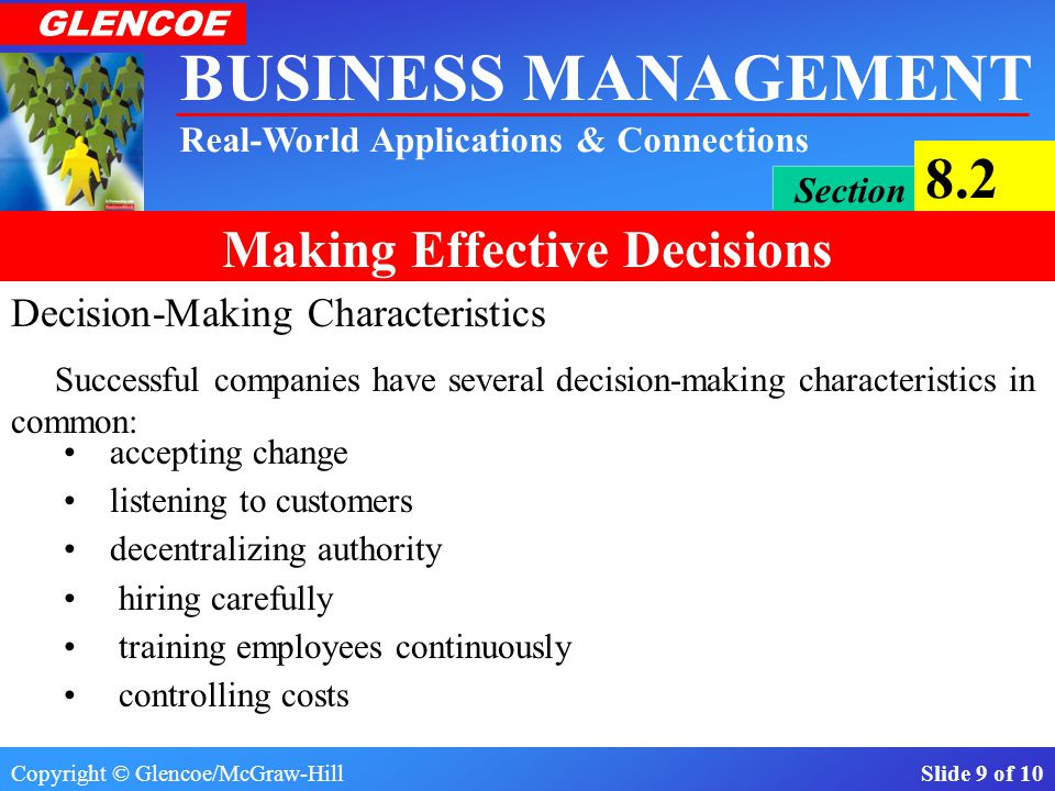 Decision-Making Characteristics