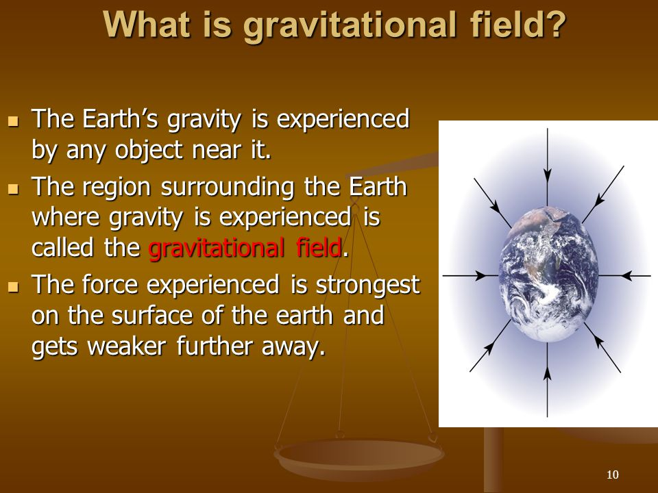 What is gravitational field