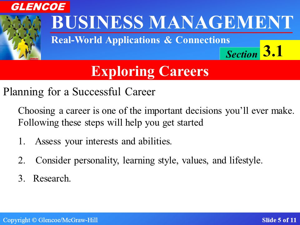 Planning for a Successful Career