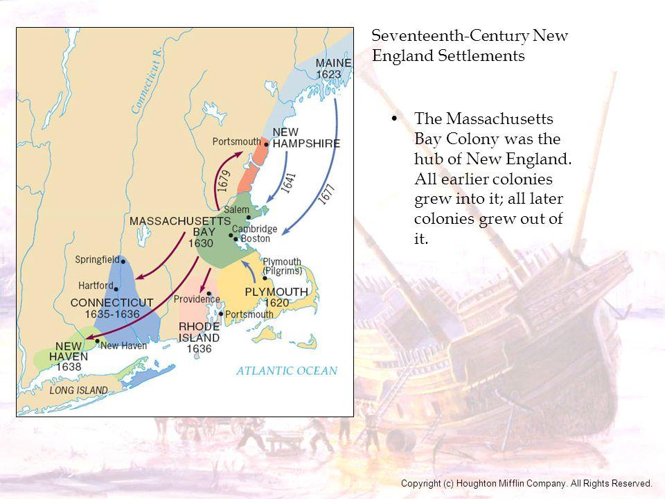 Seventeenth-Century New England Settlements