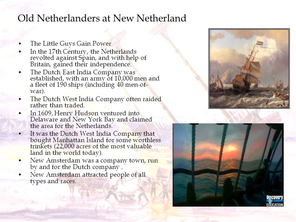 Old Netherlanders at New Netherland