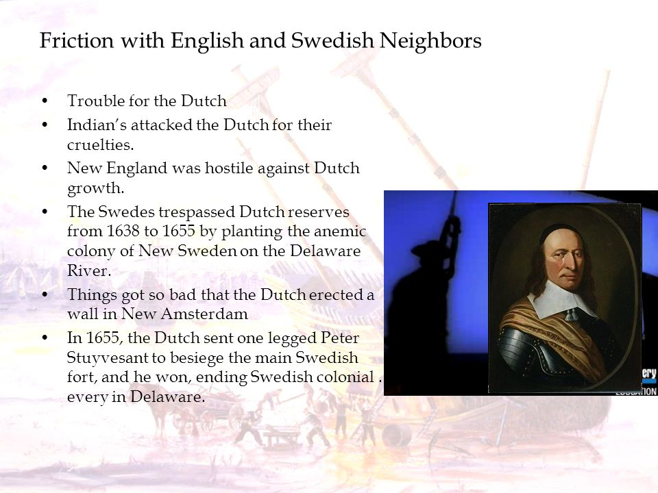 Friction with English and Swedish Neighbors
