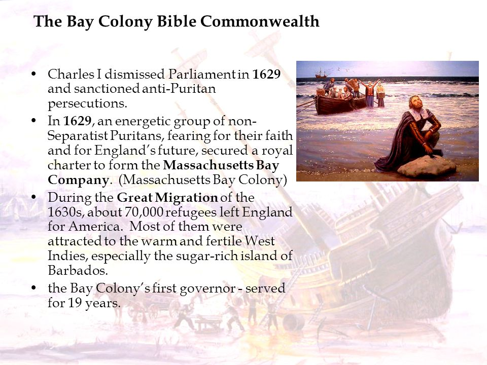 The Bay Colony Bible Commonwealth