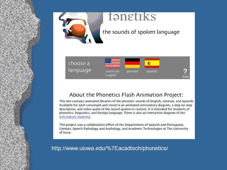 http://www.uiowa.edu/%7Eacadtech/phonetics/