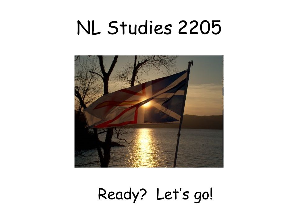 NL Studies 2205 Ready Let's go!