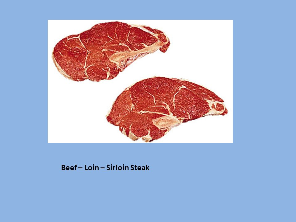 Beef – Loin – Sirloin Steak