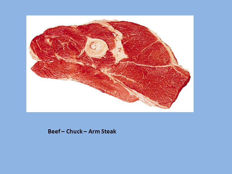Beef – Chuck – Arm Steak