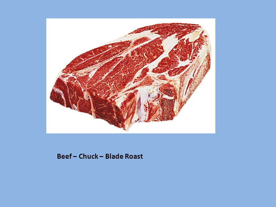 Beef – Chuck – Blade Roast