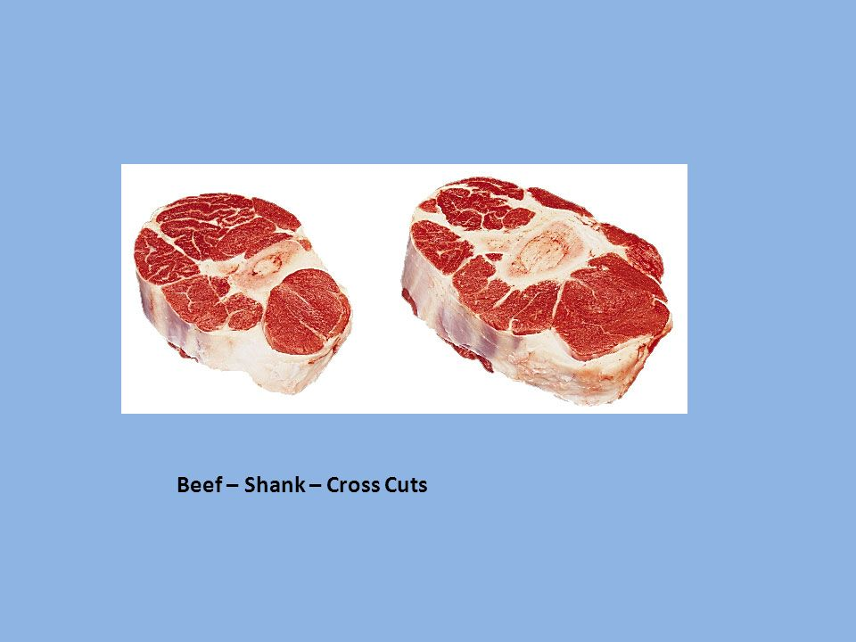 Beef – Shank – Cross Cuts