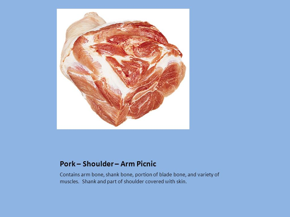 Pork – Shoulder – Arm Picnic