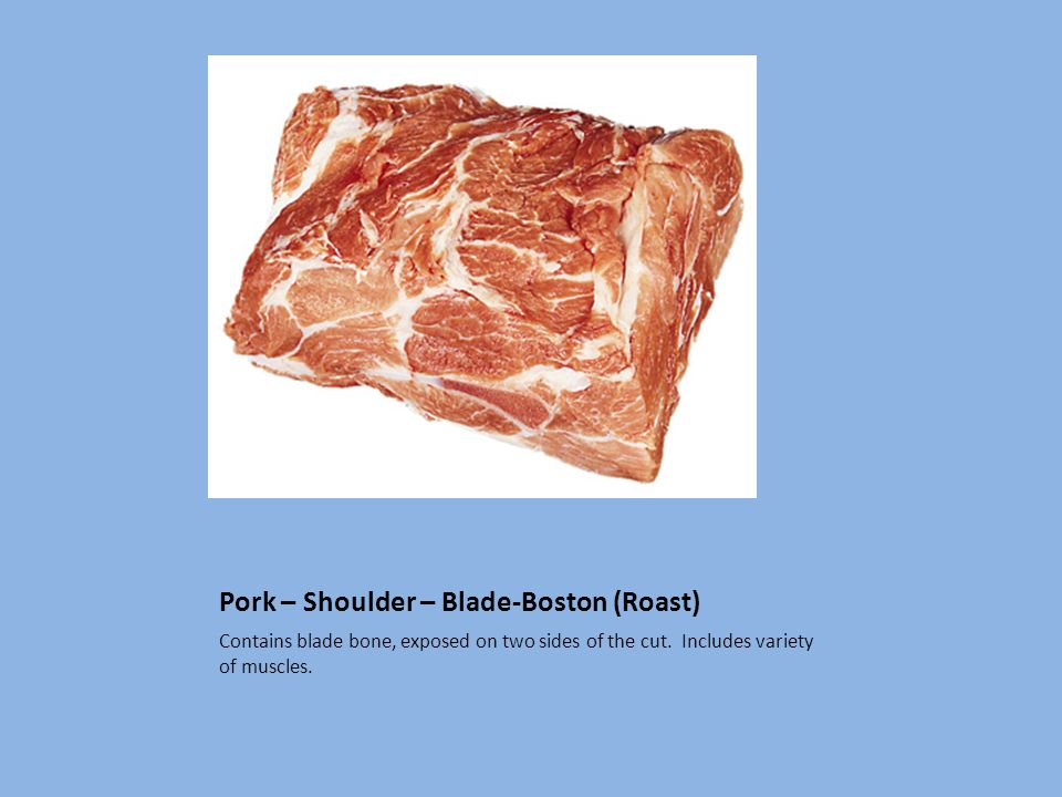 Pork – Shoulder – Blade-Boston (Roast)