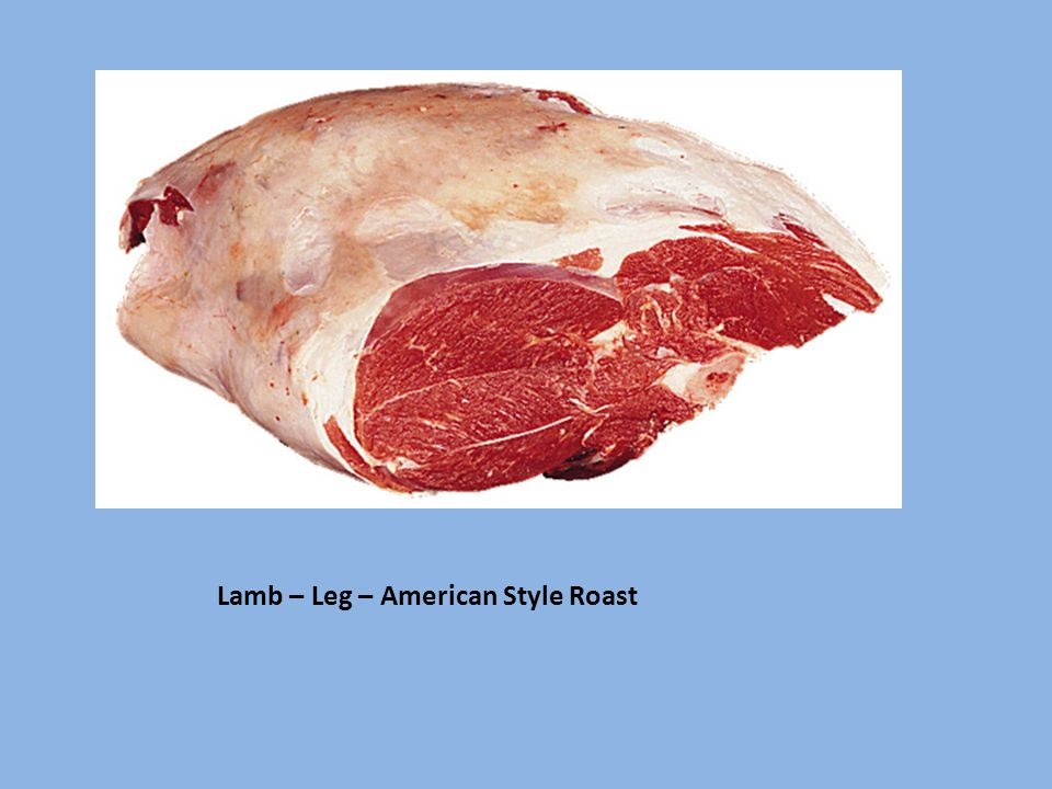 Lamb – Leg – American Style Roast