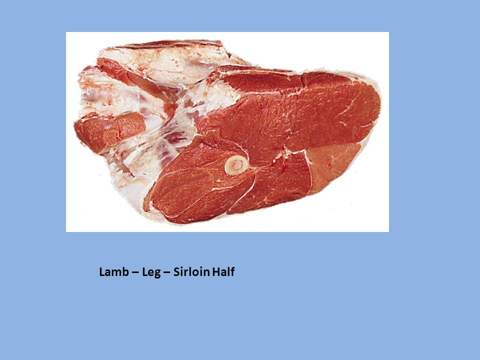 Lamb – Leg – Sirloin Half