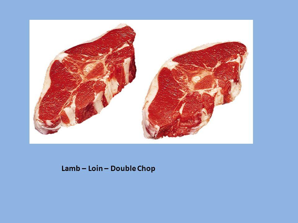 Lamb – Loin – Double Chop