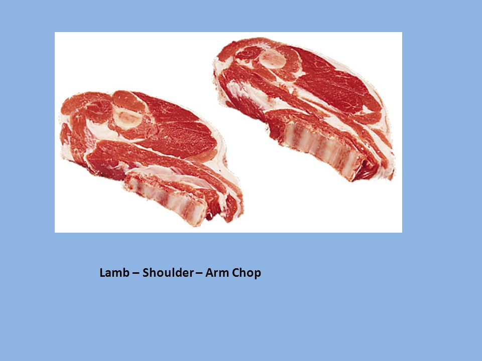 Lamb – Shoulder – Arm Chop
