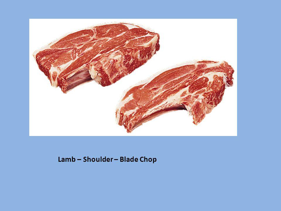 Lamb – Shoulder – Blade Chop