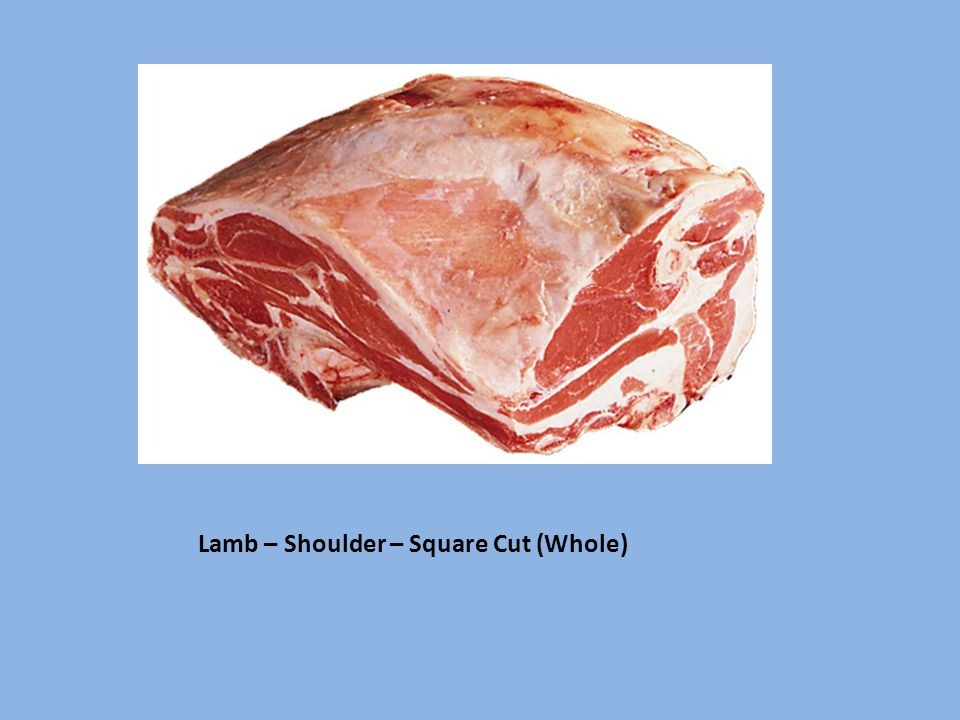 Lamb – Shoulder – Square Cut (Whole)