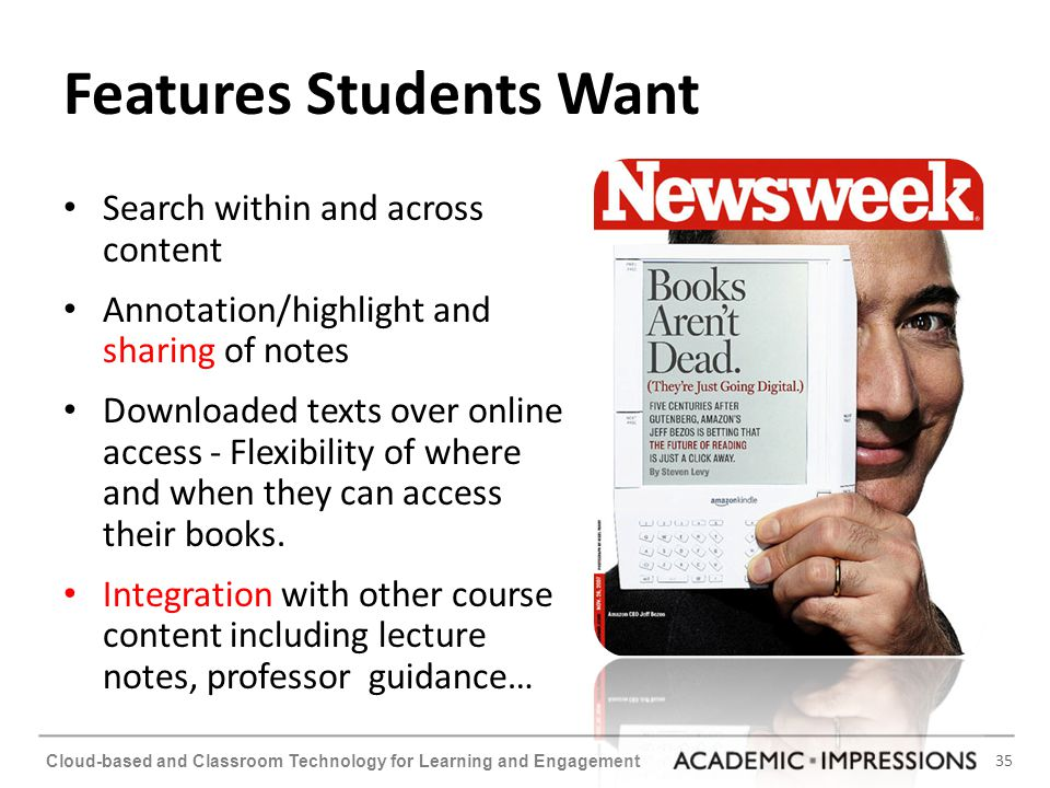 Features Students Want