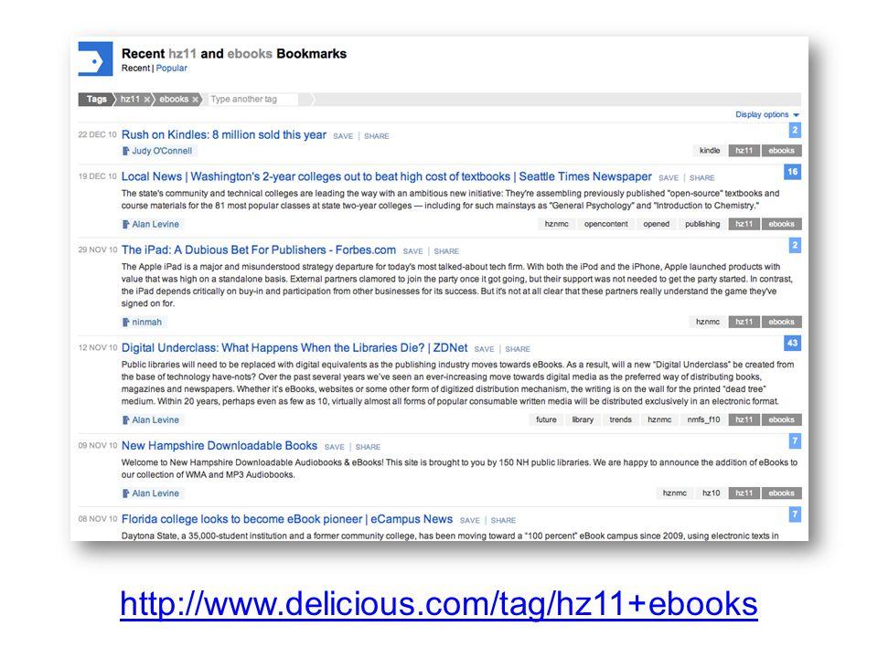 http://www.delicious.com/tag/hz11+ebooks