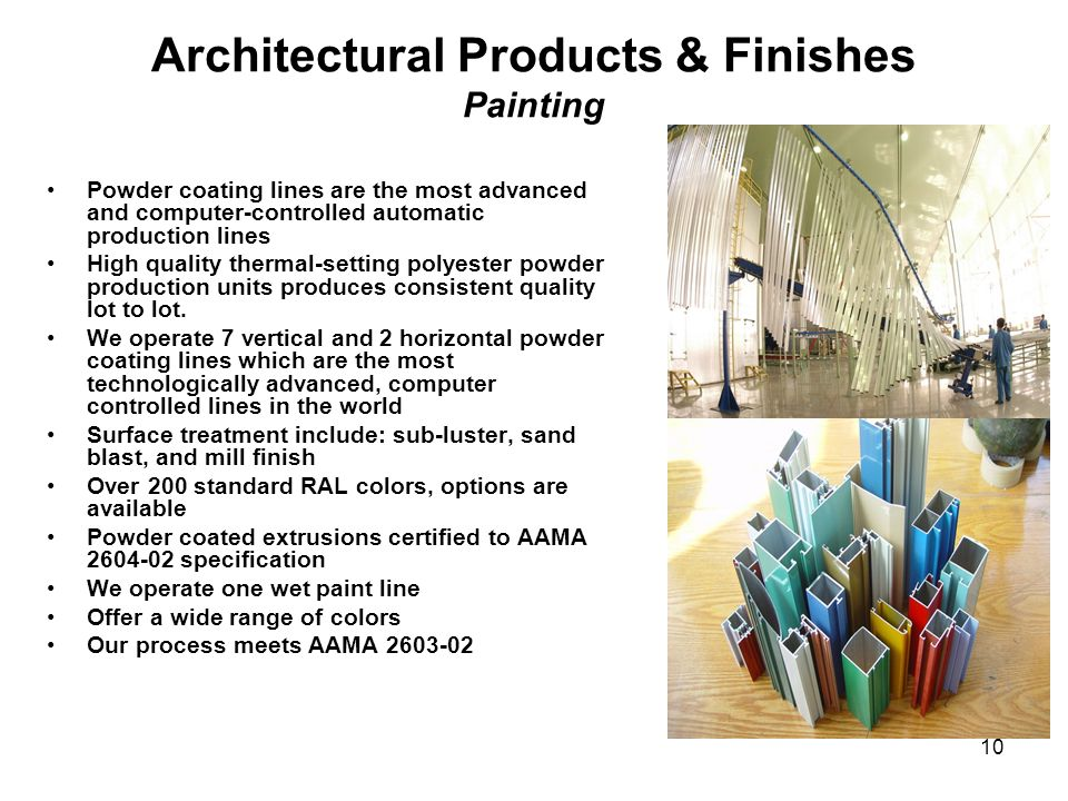 Architectural Products & Finishes Painting