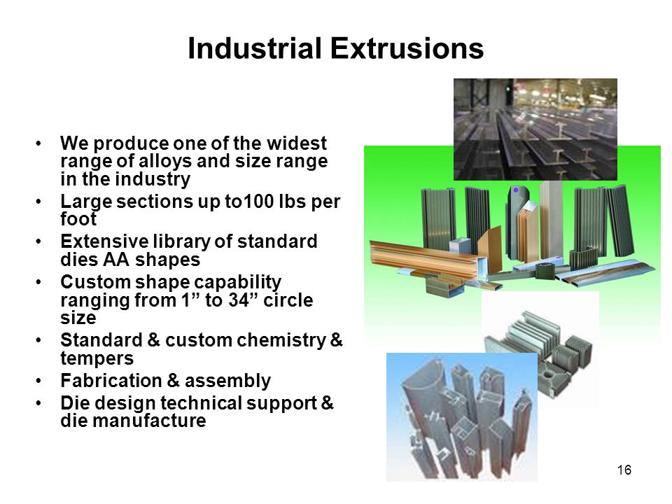 Industrial Extrusions