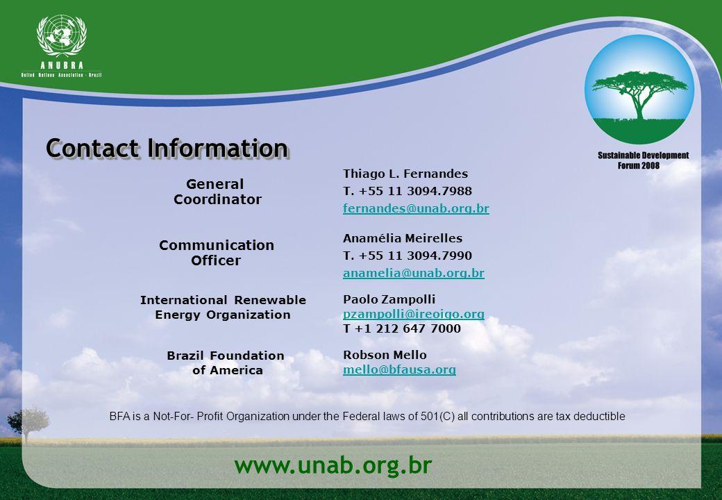 International Renewable