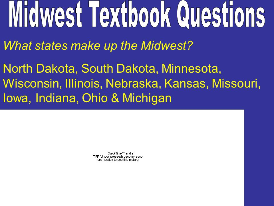Midwest Textbook Questions