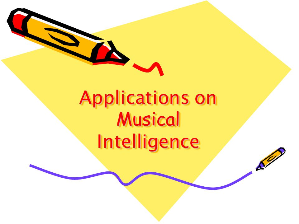 Applications on Musical Intelligence