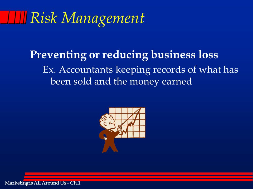 Risk Management Preventing or reducing business loss