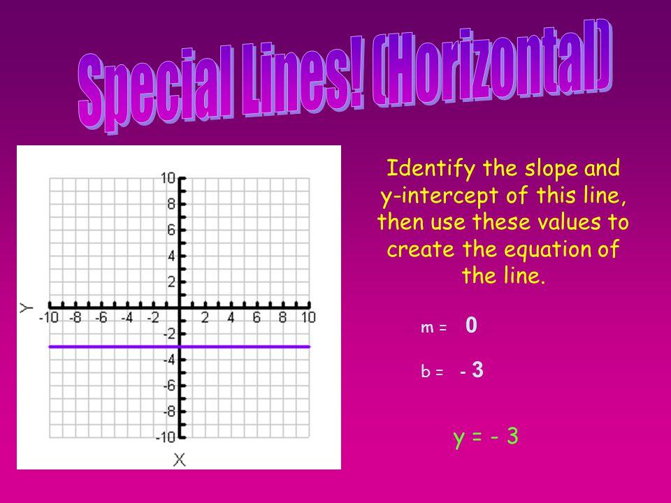 Special Lines! (Horizontal)