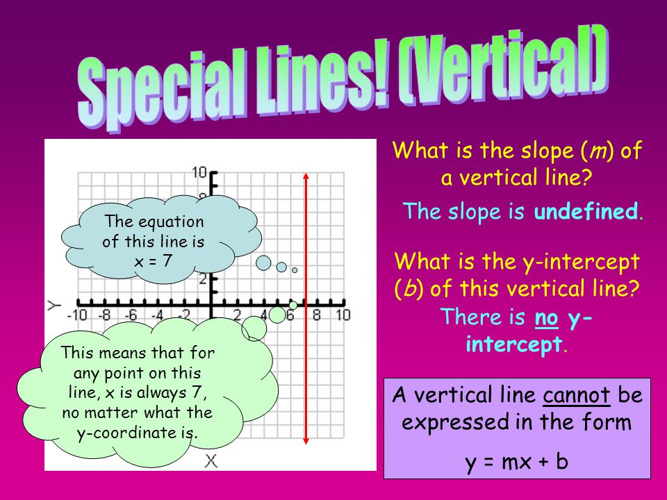 Special Lines! (Vertical)