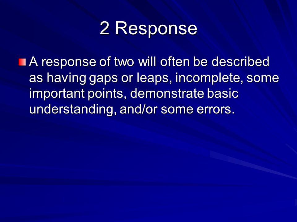 2 Response