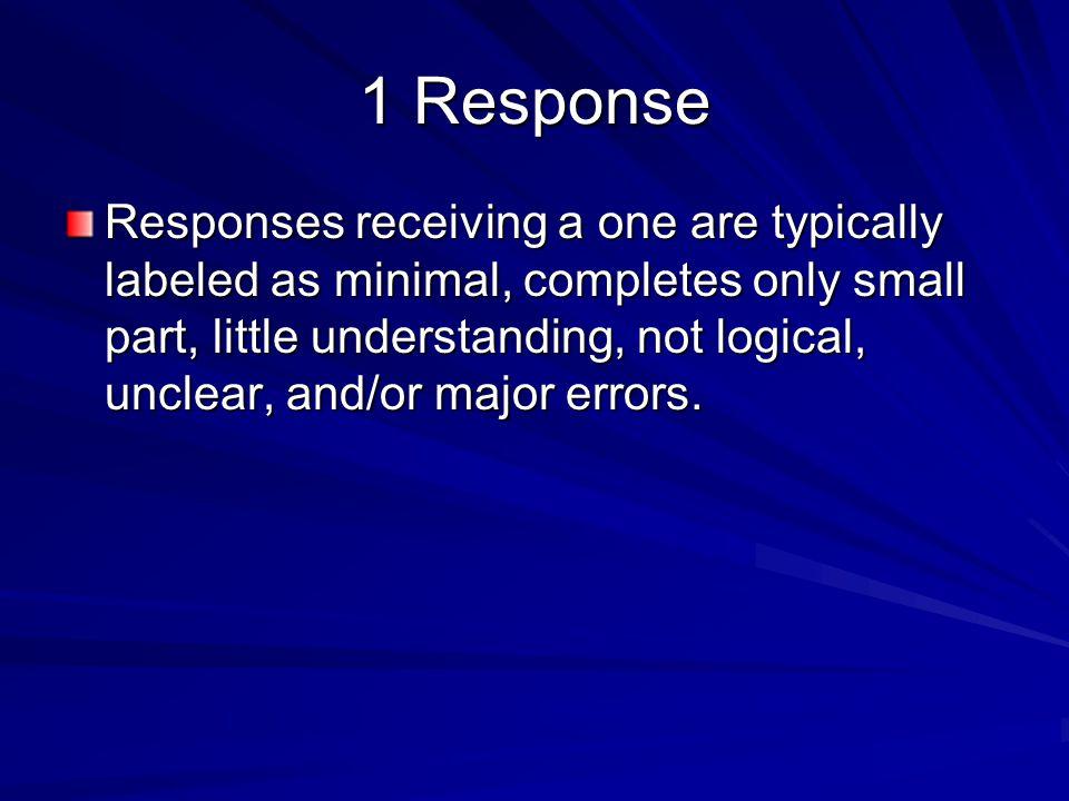 1 Response