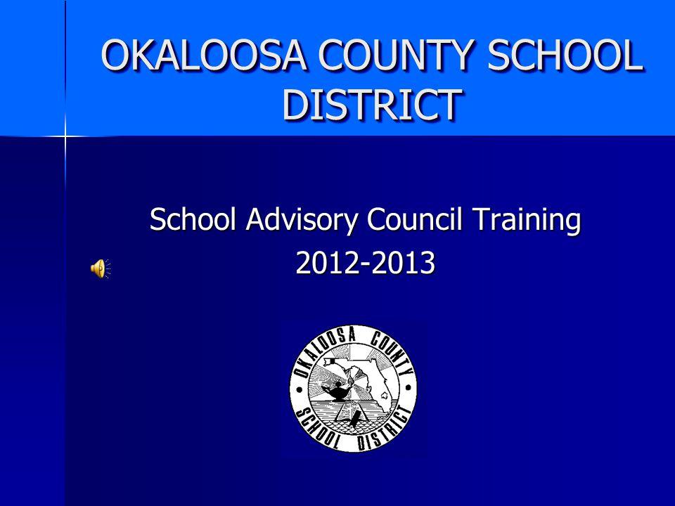 OKALOOSA COUNTY SCHOOL DISTRICT