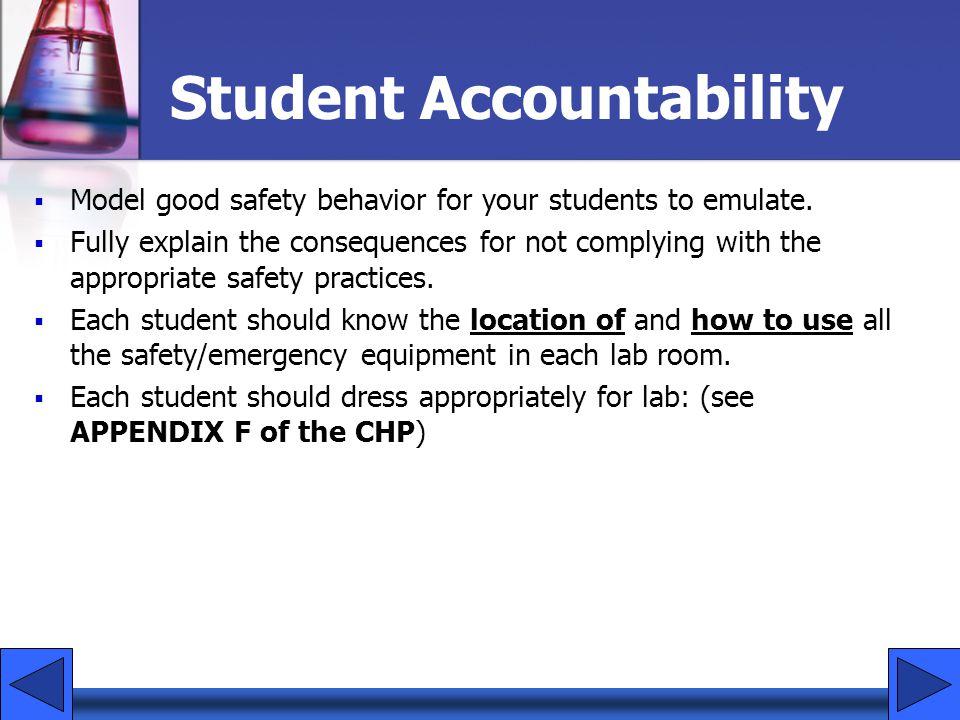 Student Accountability