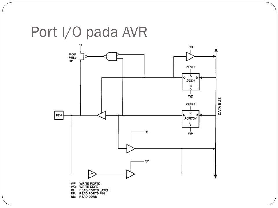 Port I/O pada AVR
