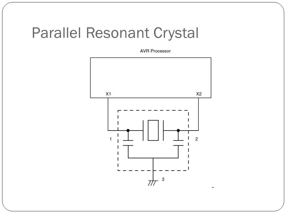 Parallel Resonant Crystal