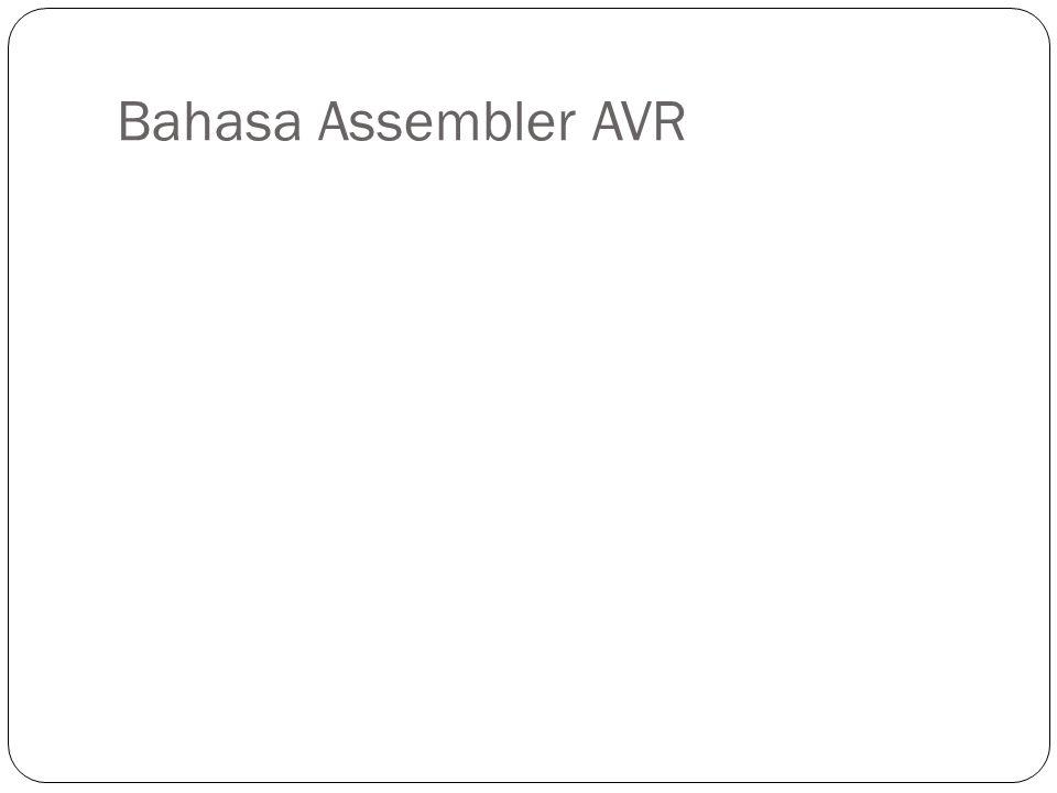 Bahasa Assembler AVR