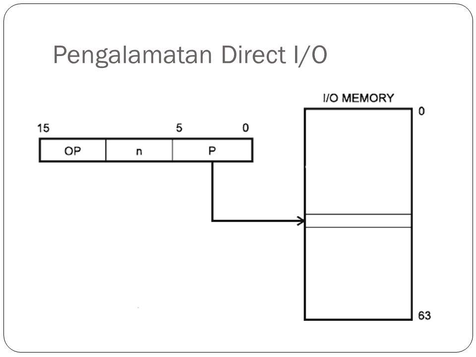 Pengalamatan Direct I/O