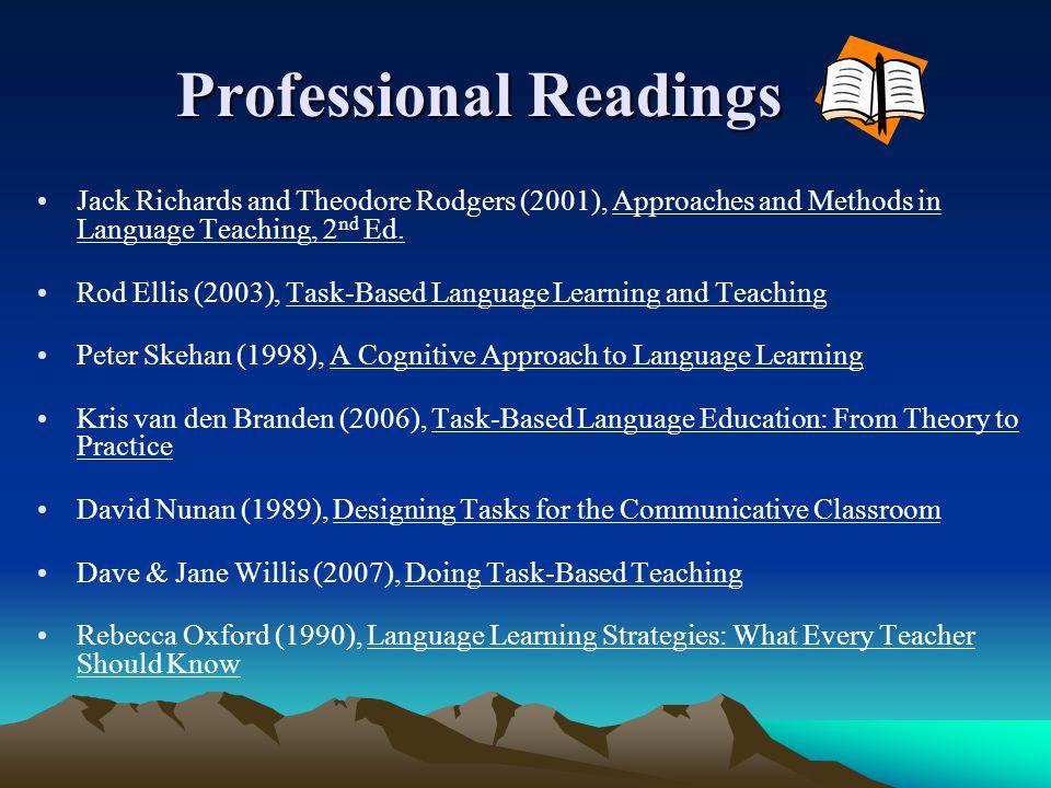Professional Readings