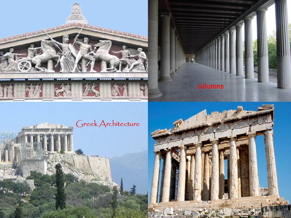 columns Greek Architecture
