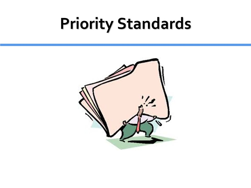 Priority Standards 7 minutes